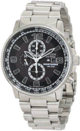 Citizen Mens CA0290-51E Eco-Drive Nighthawk Watch