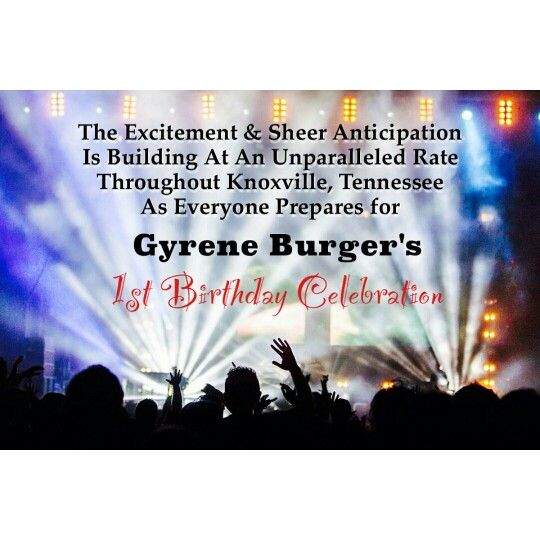 #happy1styear #gyreneburger1styear #gyreneburgerkx #gyreneburger #gyrene #knoxville
