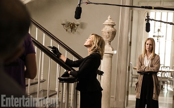 American Horror Story   Sarah Paulson — who takes on the role of school headmistress Cordelia — had no learning curve when it came to playin...