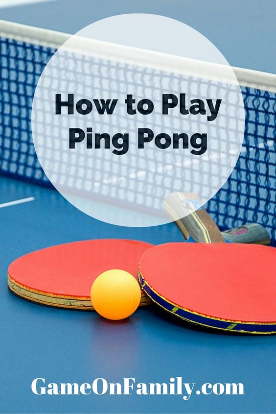 How to play ping pong plays the o 39 jays and to play for 10 table tennis rules