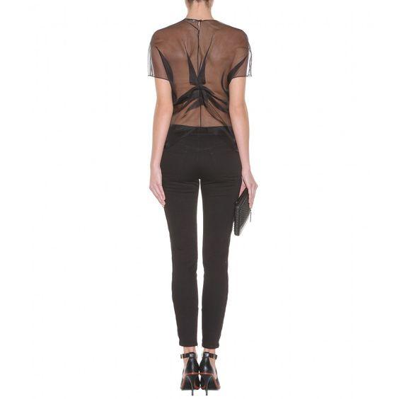 mytheresa.com - Azade Organza gathered silk top - Luxury Fashion for Women / Designer clothing, shoes, bags