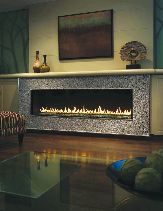 Montigo modern linear fireplaces formerly lumbermen 39 s hearth and home travel pinterest - Contemporary linear fireplaces cover idea ...