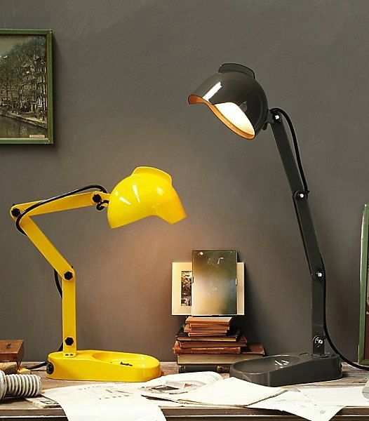 18 Stylish Desk Lamps That Will Brighten Your Home Office Living In A Shoebox Desk Lamp Table Lamp Table Lamp Design