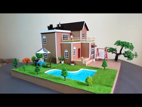 How To Make A Beautiful Mansion House With Fairy Garden And Pool