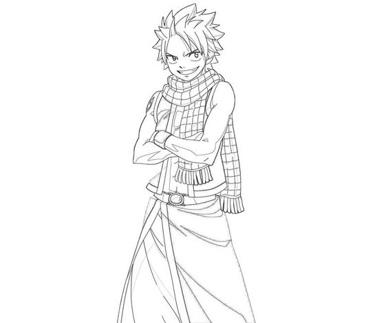 fairy tail coloring pages natsu fairy tail chapter 134 lineart color me pinterest. Black Bedroom Furniture Sets. Home Design Ideas