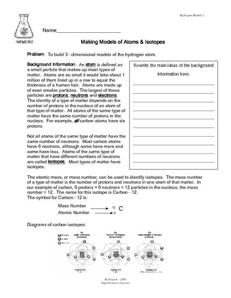 isotopes worksheet high school chemistry isotopes ions and atoms worksheet answers. Black Bedroom Furniture Sets. Home Design Ideas