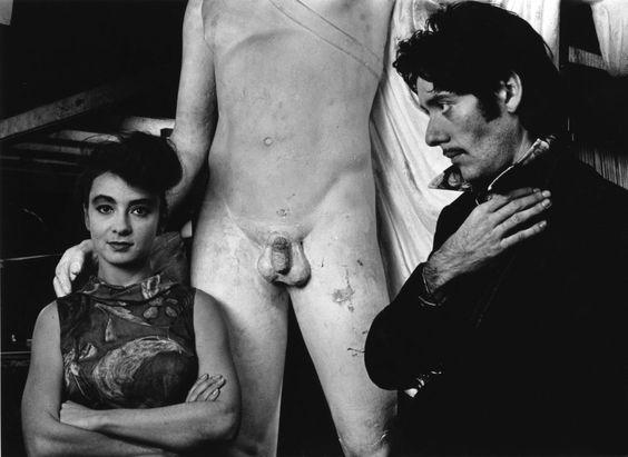 Les Rita Mitsouko (Catherine Ringer et Fred Chichin) par Robert Doisneau, 1988
