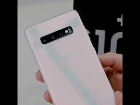 Samsung Galaxy S10 Plus Unboxing Youtube Samsung Samsung Phone Cases Samsung Galaxy