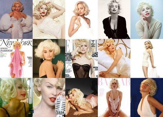 Marilyn is UNIQUE! Fakes M.M.