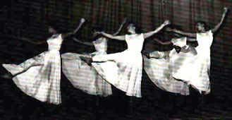 Sr. Elite 1953:  Linda Pint, Linda Kohv, Mea Koplus, Ingrid Saar, Evelyn Koop