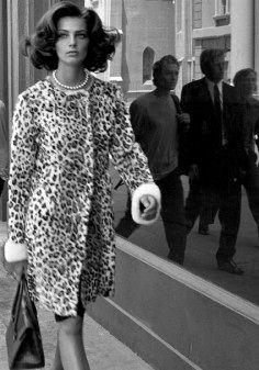 "Daria Werbowy by Steven Meisel in ""Cinema Stills"" for Vogue Italia, October 2003"