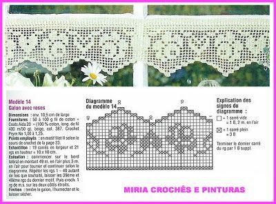 MIRIA CROCHÊS E PINTURAS
