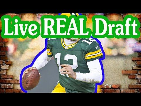 Fantasy Football Podcast - Live REAL Draft - 2016/09/03