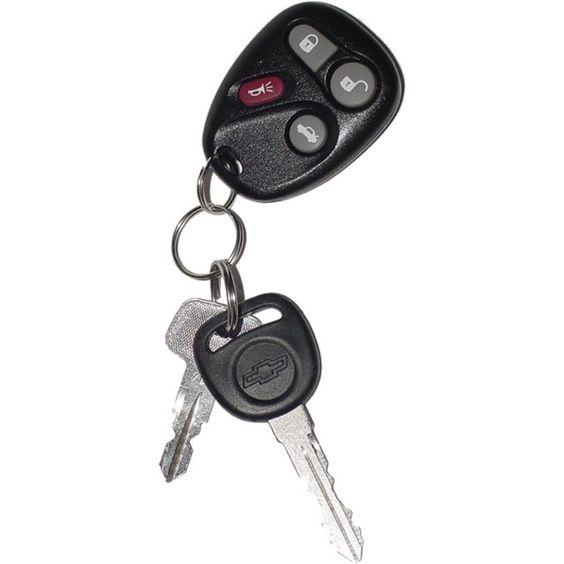 Car Keys via Polyvore: