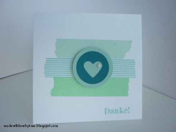 made with love by kme: Danke!
