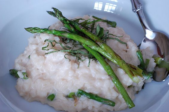 Risotto with Mascarpone and grilled asparagus! | comfort food ...