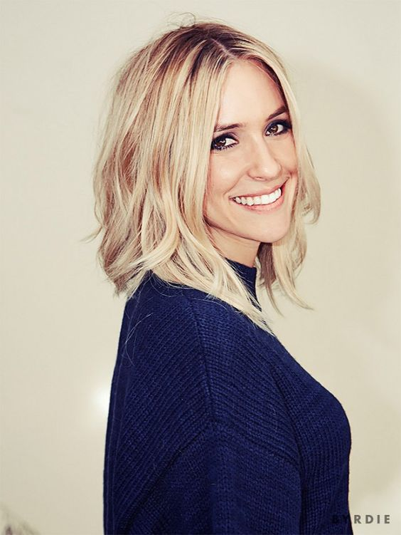 Behind the Scenes of Kristin Cavallari's MAJOR Hair Transformation via @byrdiebeauty: