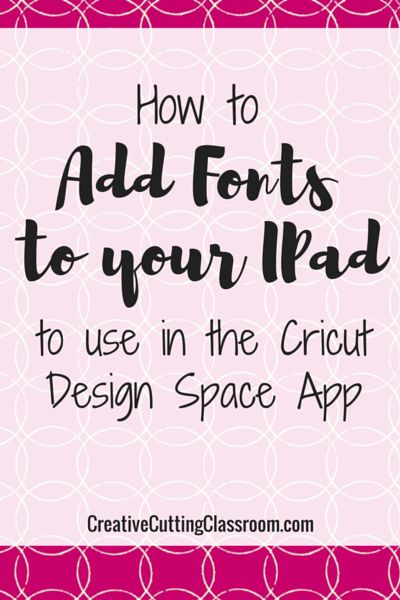 how to import fonts