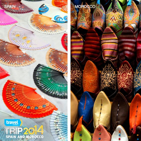 Would you rather travel to Spain or Morocco? You can go to both if you win #TheTrip2014. Enter now!