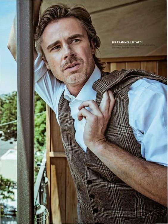 Sam Trammell for the October Issue of Esquire Middle East