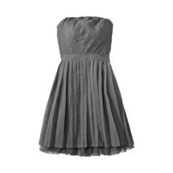 Xhilaration® Juniors Strapless Pleated Chiffon Dress - Assorted Colors