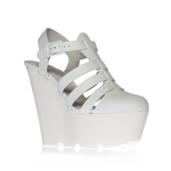 games, white shoe by kurt geiger london