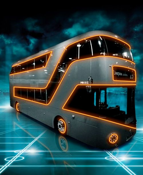 If Only The London Underground Trains Went As Fast As Tron Light Cycles Bus London Bus London Underground Train