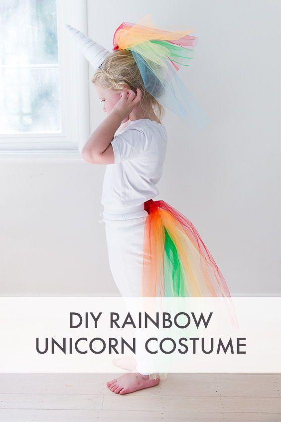 Say Yes Halloween Say Yes Diy Costumes Kids Fancy Dress Diy Unicorn Costume Kids