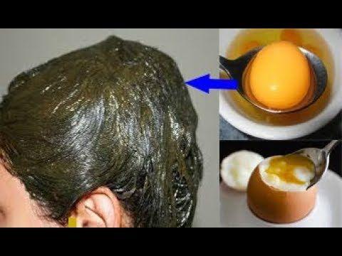 ملعقة صفار بيضة لعلاج شيب الشعر نهائيا وللأبد من غير صبغة التخلص من الشعر الابيض نهائيا Youtube Hair Color Auburn Body Care Hair Beauty
