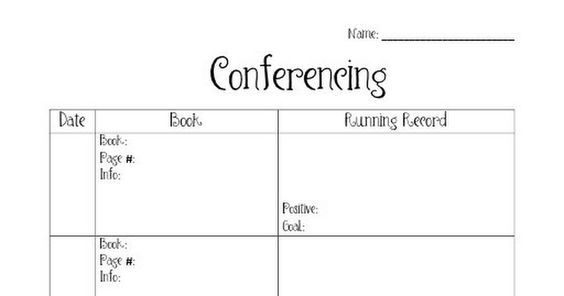 Conferencing Reading Form.pdf