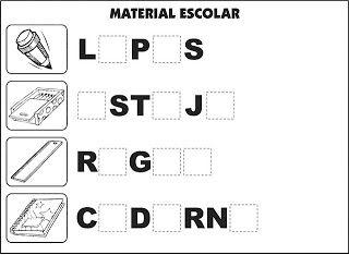Atividades Alfabetização - VilaClub
