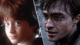 A decade of Daniel Radcliffe. Cool we got to grow up with this guy