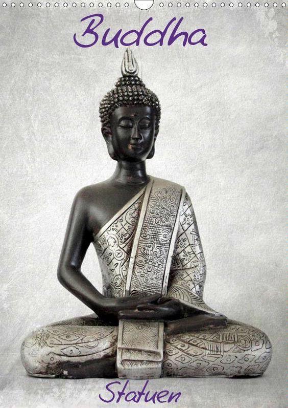 Buddha Statuen Calendaer CH-Version 2016 - JUSTART on Calvendo  #justart #calvendo #calender #buddha