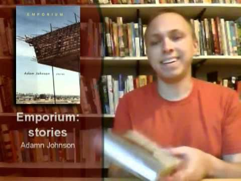 First off, please forgive the video quality here. I was trying a new recording method, which obviously didn't work that well.    Here is another Wordless Book Reviews episode. Here I review four books using only sound effects and facial expressions. The books: Ella Minnow Pea: a Novel in Letters by Mark Dunn, Emporium: Stories by Adam Johnson, In the Plex: How Google Thinks, Works, and Shapes Our Lives by Steven Levy, and The Book of Lazarus by Richard Grossman.