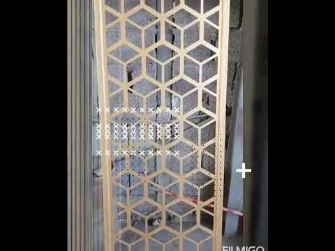 بارتشن قص ليزر مودرن مراحل التنفيذ Outdoor Structures Home Decor Room Divider