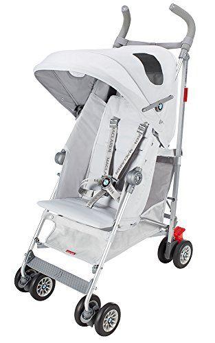 Maclaren BMW Buggy - Silla de paseo, color plateado  #madre http://carritosbebe.org/producto/maclaren-bmw-buggy-silla-de-paseo-color-plateado/