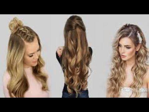 اجمل تسريحات للشعر الطويل اعمليها بنفسك بدون كوافير Youtube Hair Styles Beauty Hair
