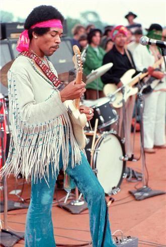 Jimi Hendrix Woodstock, NY, 1969 | Henry Diltz