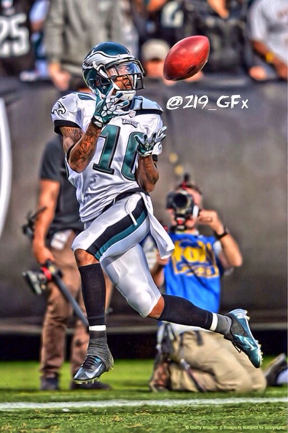 Desean Jackson Philadelphia Eagles Sports Edit