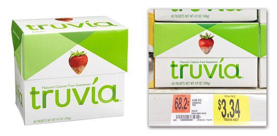 Truvia Sweetener $1.34 at Walmart