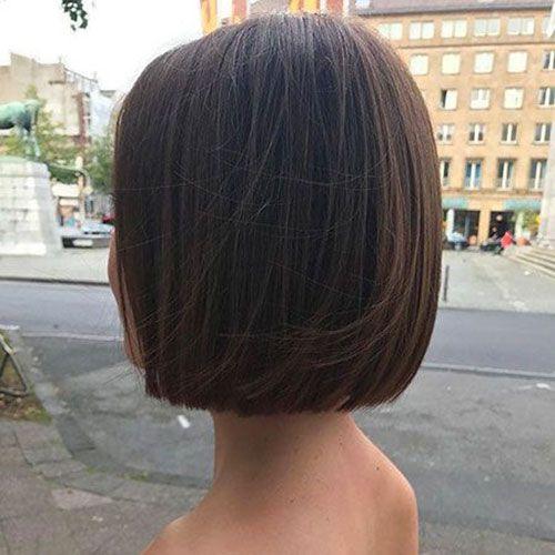 20 Latest Bob Haircuts For Fine Hair Bob Haircut And Hairstyle Ideas Hair Styles Thick Hair Styles Straight Bob Haircut