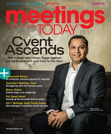 Read the @meetingstodayCR January Cover Story featuring our Founder & CEO Reggie Aggarwal: http://bit.ly/2jxfycP