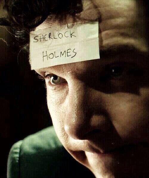 Who I am? #Sherlock
