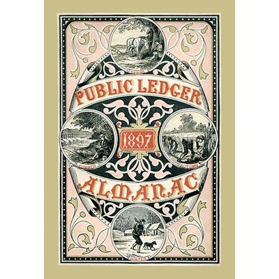 Buyenlarge Public Ledger Almanac by Free Library of Philadelphia - free accounting ledger
