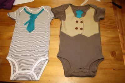 Boys Vest and Crooked Tie Applique