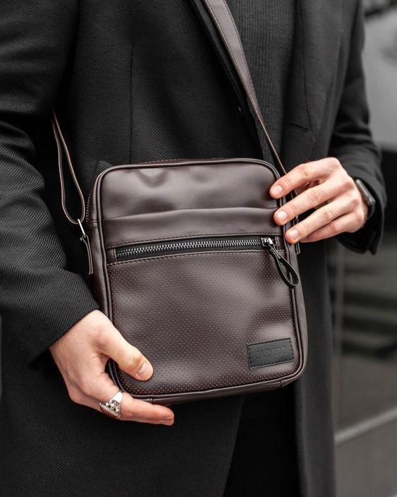 Mens Messenger Small Crossbody Bag Men Leather Bag Men Bag Etsy In 2021 Mens Leather Bag Shoulder Bag Men Small Crossbody Bag
