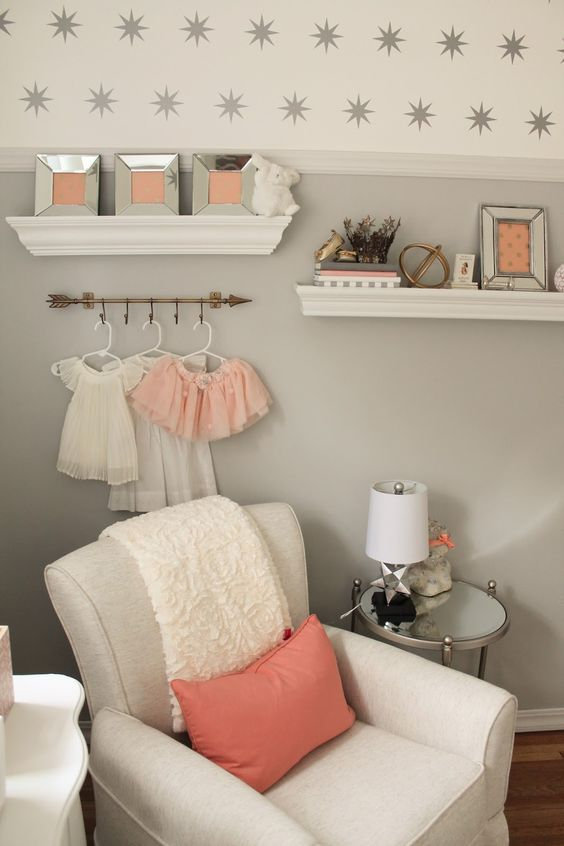 Gray Nurseries Peaches And Nurseries On Pinterest