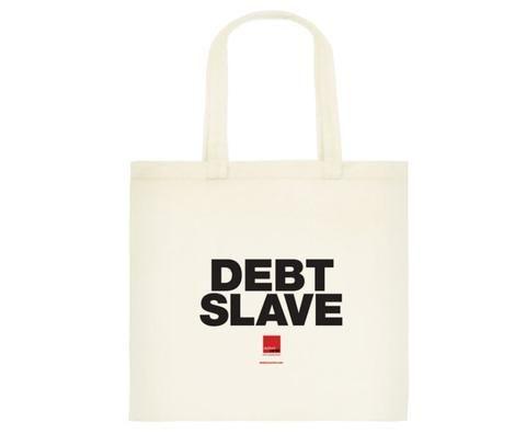 Debt slave – classic cotton tote bag