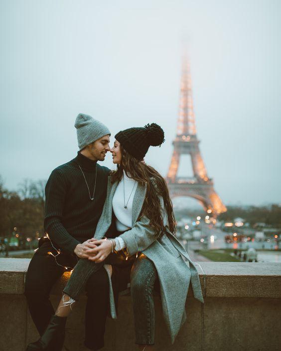 Carina Pinheiro & Ivo Filipe - carinapinheiro#ivofilipe#onewayticketrip#paris#toureiffel#torreeiffel#love#couplegoals#travelcouple#travel#explore#onewayticketrip