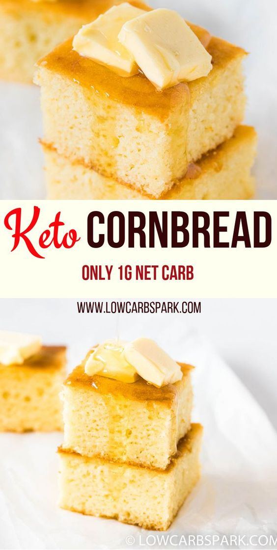 LOW CARB KETO CORNBREAD RECIPE - keto freezer meals